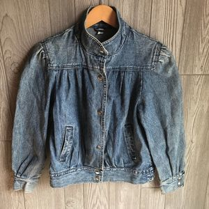 80's Vintage Denim Jacket